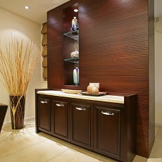中式风格进门玄关装饰柜图片