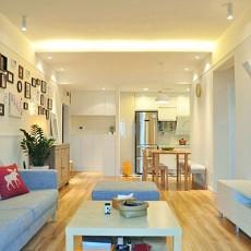 大小75平田园二居客厅装饰图片大全