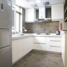 精美面积80平小户型厨房现代装饰图片