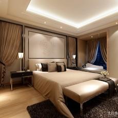 热门75平米二居卧室现代装修设计效果图