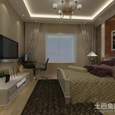 热门大小106平现代三居卧室装修设计效果图片欣赏