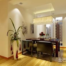 精美99平米三居餐厅现代装饰图片大全