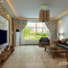 精美92平米三居客厅简约装修设计效果图片大全
