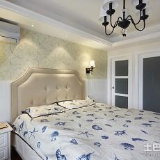 热门128平米现代别墅卧室欣赏图片大全
