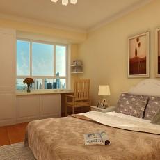 精选97平米三居卧室现代实景图片
