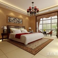 精美面积107平中式三居客厅实景图片