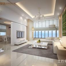 热门大小86平现代二居客厅装饰图