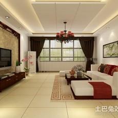 精选大小99平中式三居客厅装修欣赏图片