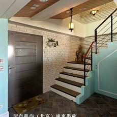 精美面积127平复式客厅欧式装修实景图片欣赏