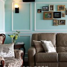 109平米三居客厅欧式装饰图片