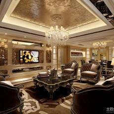 精选面积142平别墅客厅欧式装修图