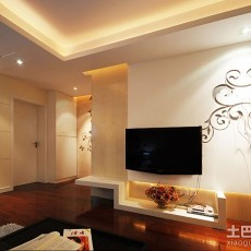 精选96平客厅三居现代设计效果图