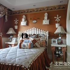 三居卧室田园装饰图