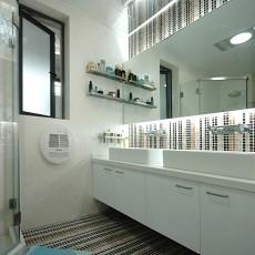 精选75平米现代小户型卫生间装修设计效果图片欣赏
