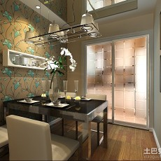 精选96平方三居餐厅现代装修图片大全