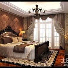 热门面积92平欧式三居卧室装修设计效果图片欣赏