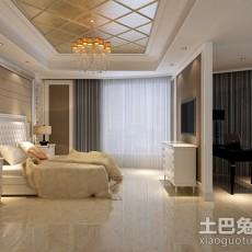 热门103平米三居卧室欧式装修设计效果图片欣赏