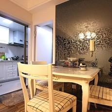 热门大小99平现代三居餐厅欣赏图片
