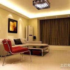 精美98平米三居客厅欧式装修设计效果图片欣赏
