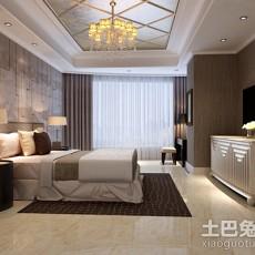 精选面积90平欧式三居卧室装饰图片欣赏
