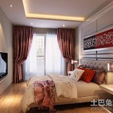 2018精选79平米二居卧室欧式装修设计效果图片