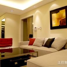 面积100平欧式三居客厅装修设计效果图片大全
