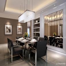 精选78平米二居餐厅现代效果图片欣赏