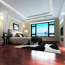 精美二居卧室欧式装饰图片欣赏