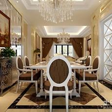 热门85平米二居餐厅欧式效果图片大全
