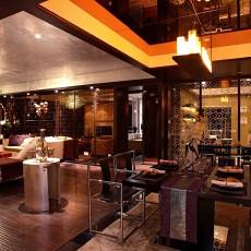 热门美式三居餐厅设计效果图