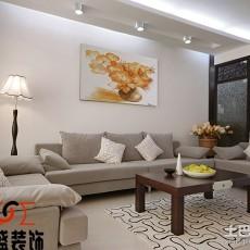 精美面积91平现代三居客厅装修图片大全