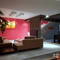 精美简约复式客厅效果图片