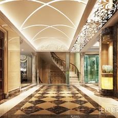 精美面积144平别墅玄关欧式设计效果图