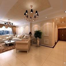 热门104平方三居客厅欧式装修图片