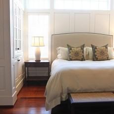 精美面积109平欧式三居卧室装修实景图片