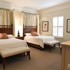 面积103平现代三居卧室实景图片欣赏
