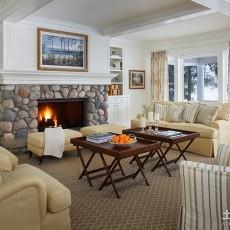 热门面积99平欧式三居客厅装饰图片