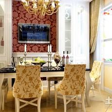 精选72平米二居餐厅欧式装修效果图片欣赏