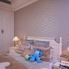 2018精选面积101平欧式三居卧室装修图片大全
