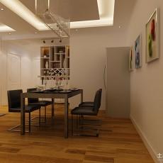 107平米三居餐厅现代装修设计效果图片