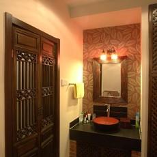 精选中式小户型卫生间装修效果图片欣赏