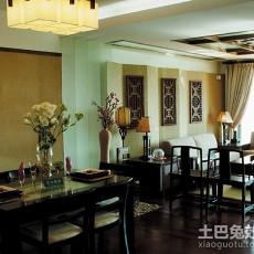 2018二居餐厅中式装修图片