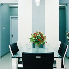 2018精选78平米现代小户型餐厅装饰图片欣赏