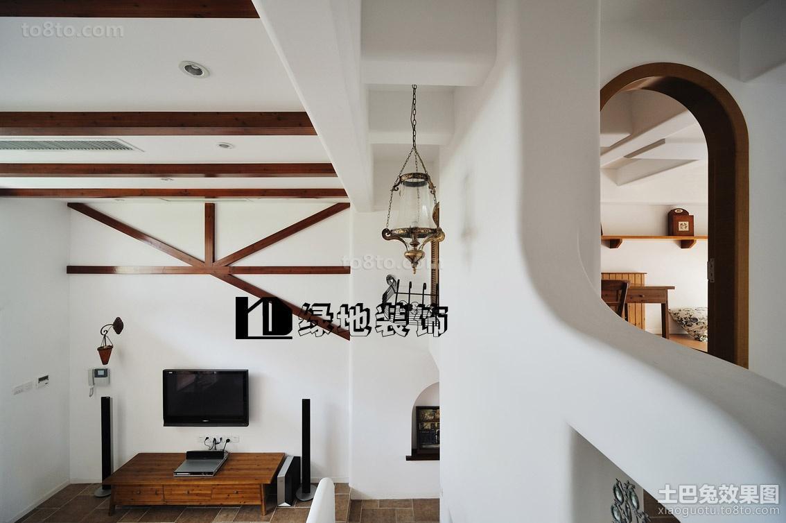 精美面积118平复式休闲区欧式装修实景图片欣赏