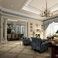 精选137平米欧式别墅客厅装饰图片大全