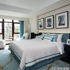 2018精选92平方三居卧室现代效果图