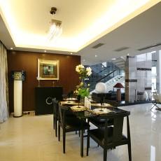 精选大小119平别墅餐厅中式装修设计效果图