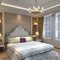 94平方三居卧室欧式效果图片欣赏