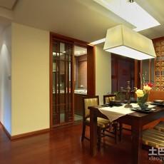 107平米三居餐厅现代装修实景图片大全