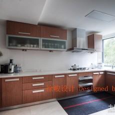 96平米三居厨房现代装修效果图片欣赏